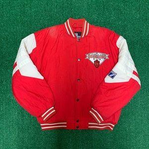 Vintage Logo 7 Indiana Hoosiers Puffer Jacket 90s